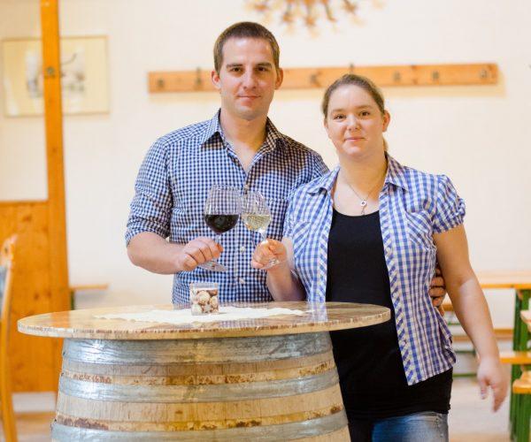 Heuriger innen - Weinbau Beranek