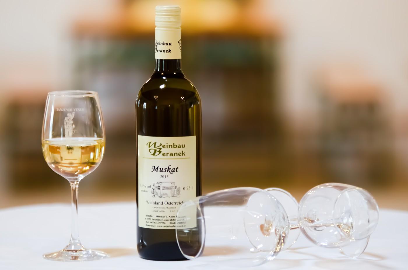 Muskat 2016 - Weinbau Beranek