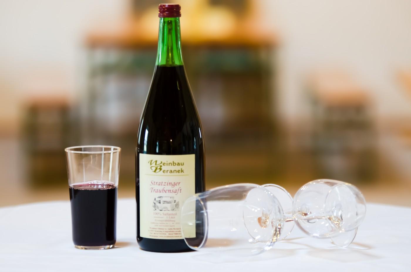 Stratzinger Traubensaft rot - Weinbau Beranek