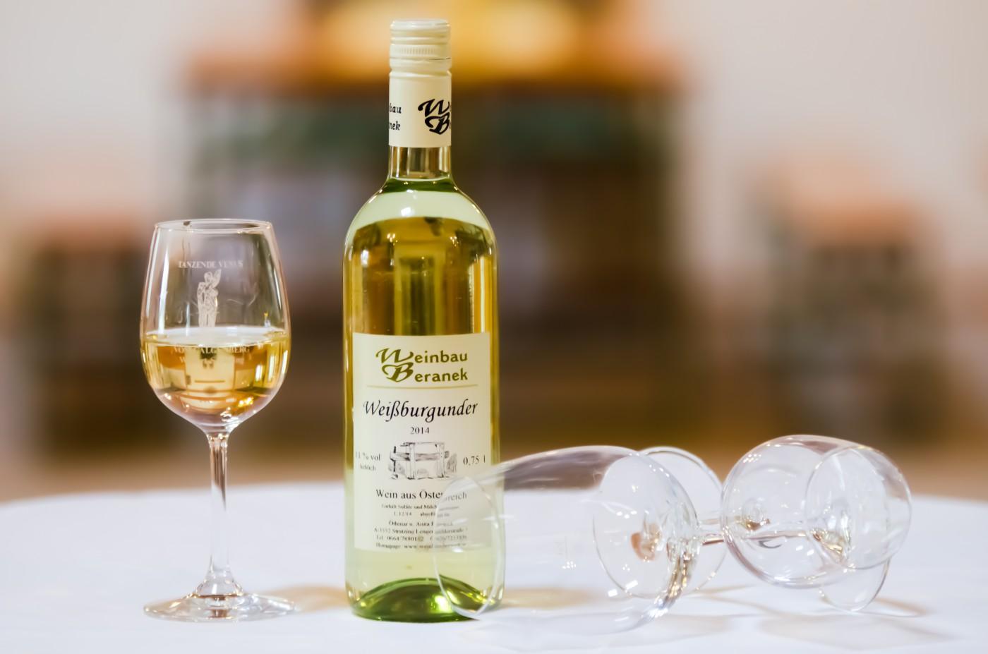 Weissburgunder - Weinbau Beranek