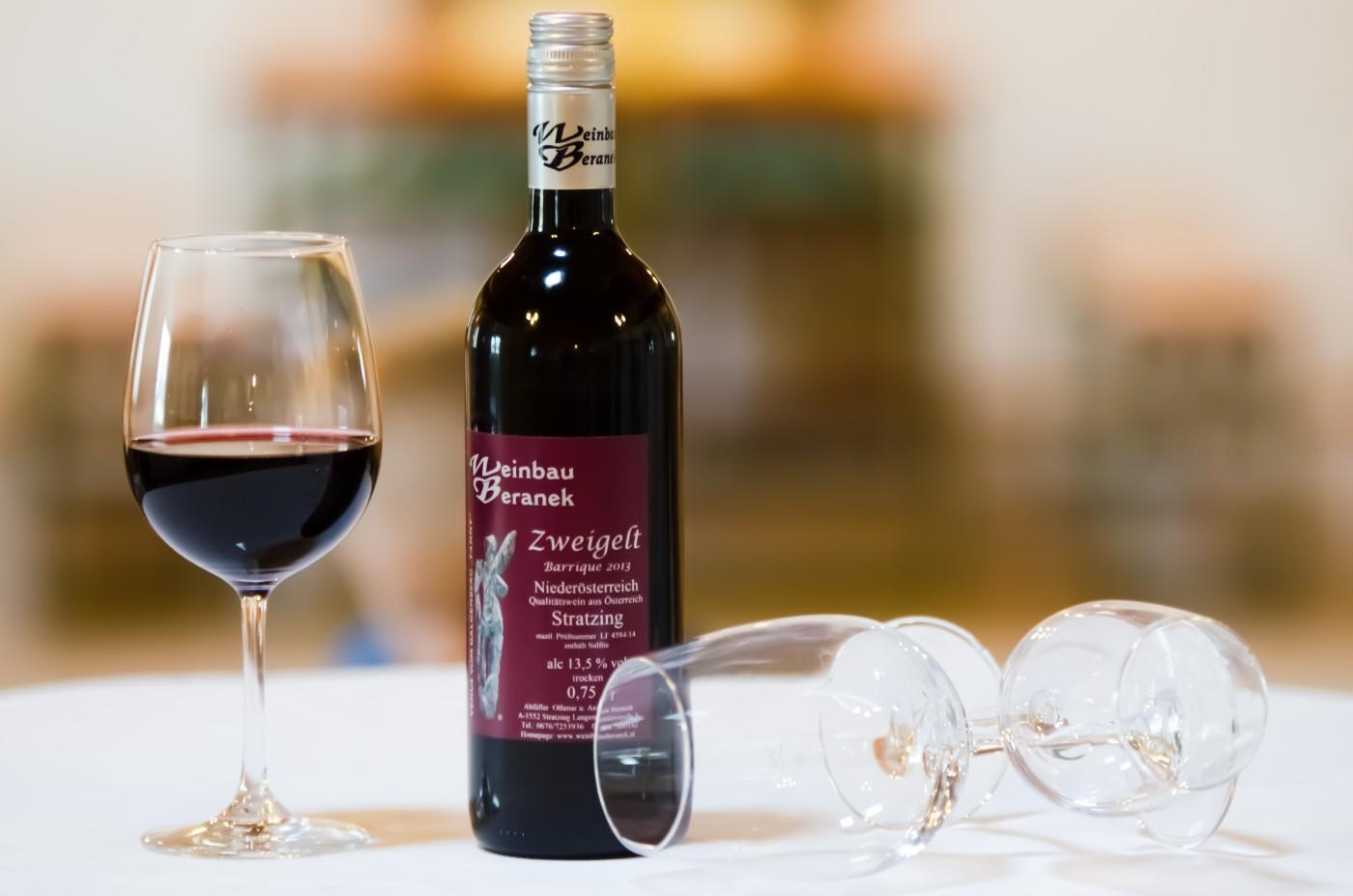 Zweigelt Barrique 2013 - Weinbau Beranek